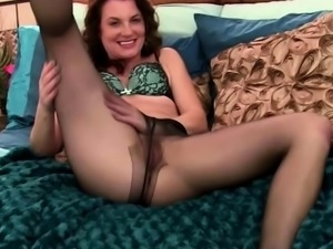 A Naughty Chick Plays With a Dildo