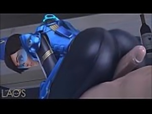 Tracer from overwatch getting fucked hardcore lastest clips of 2018 (HD)