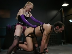 Dj likes pain and enjoys different bdsm games. He is one really bad boy and...