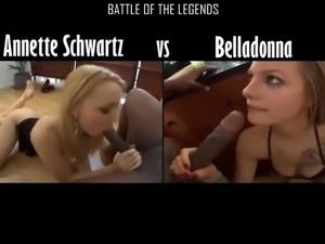 Annete Schwarzt vs Belldonna