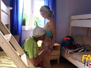 Fake Hostel - Tiny teen girls first time away from home