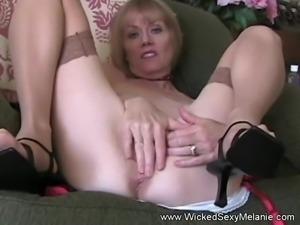 Granny Turns Into A Cum Drinking Slut