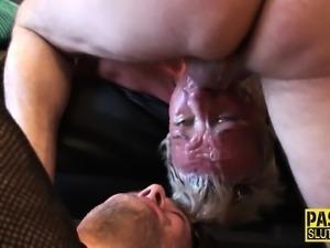 Kinky whore fucked hard