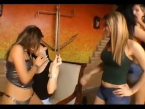 latina lesbian kiss
