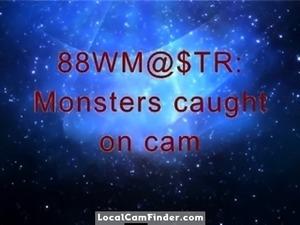 Monster BBW's caught on cam!!