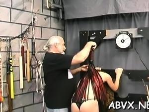 Exposed wife bizarre home porn in rough thraldom scenes