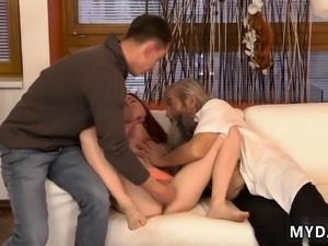 Woman and girl two hoes blunt sports Unexpected practice