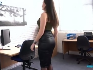 All horny and alone nympho Charlie Rose exposes her juicy boobs during solo