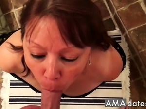 Mature Asian Blowjob & Fuck P.O.V