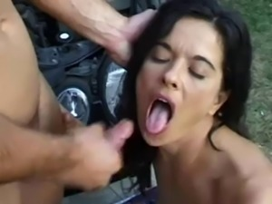 Cumshots on angelica bella 2
