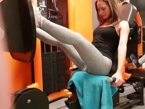 Camel toe in the gym