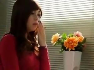 Japanese girl fingering