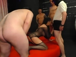 Really horny Mommy Wants nothing but some hardcore gangbang