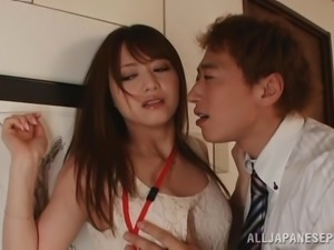 Unbelievable Japanese Babe Goes Hardcore With A Naughty Guy
