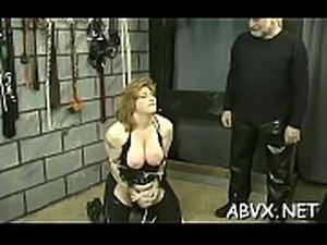 Big beautiful woman babe severe stimulation in complete thraldom scenes