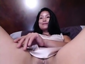 Sizzling hot solo asian amateur masturbation nasty session