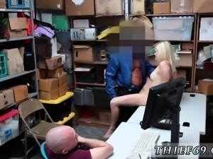 Blonde milf fucks stud and mom ally' step patron hd