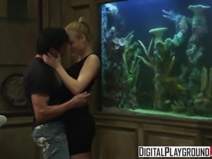 Naughty Escort Kayden Kross knows how to work a cock