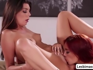 Hot babe jayden cole and olivia lua intense orgasm