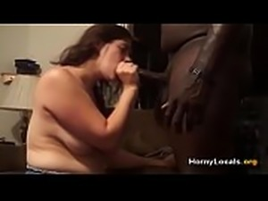 BBW gettin&#039_ BBC at home