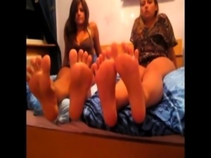 POV Girls does Foot Play