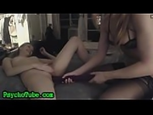 Hot Girls Crazy Strap On Fuck