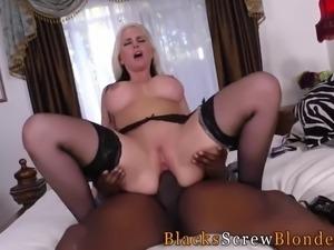 Milfs has interracial sex