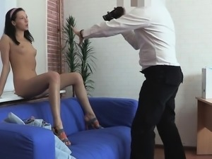 Lascivious chick cuckolds her cheating guy with his flatmate