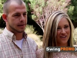 Swing couple is happy to be in Vegas
