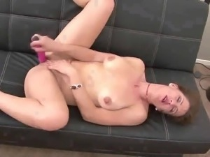 Lewd buxom nympho Miss Trixie is actually interested in teasing herself