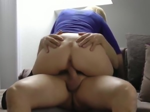 busty german milf from PUBLICFICK COM takes amazing creampie