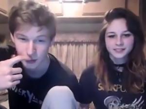 Teen Couple Enjoying Blowjob And Fuck