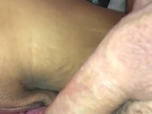 Pregnant girlfriend with big tits riding hard cock