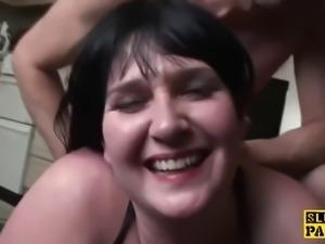 Brunnette fucked hard