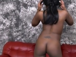 Black Amateur Ghetto Whore Getting Her Face Totally Ruined