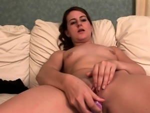 Teen Coed With Braces Masturbates
