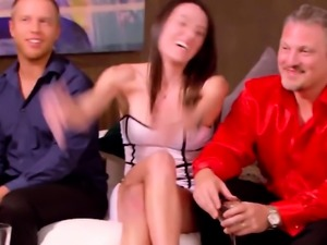 Swinger wife and husband celebrate