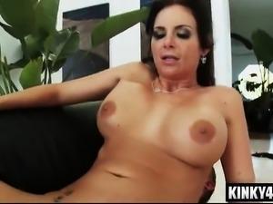 Big tits pornstar punishment and facial