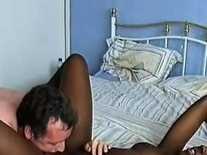 Getting lucky with a younger black amateur