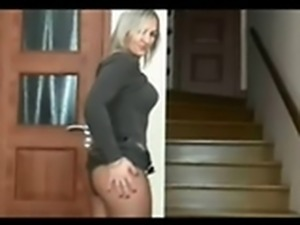 Horny Housewife teasing her Man