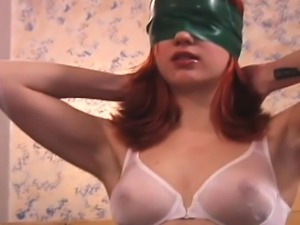 Cutie gets bounded taut and titillated in bdsm session
