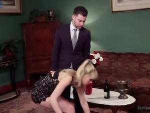 Incredibly voracious whorish Zoey Monroe gets brutally analfucked