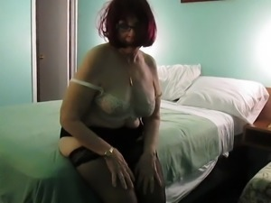 Aunt Sue pussy whipping