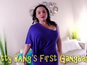 Betty Bang's First Gangbang