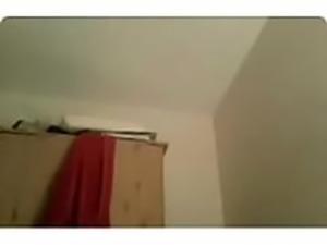 Webcam teen posing