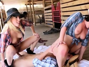 Blonde toilet fuck Farm Girls