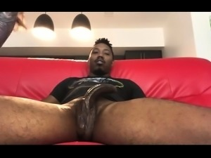 Big booty amateur brunette takes a black cock for a hot ride