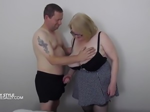 Tits bouncing doggy style