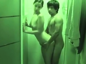 Teens love fucking in the shower