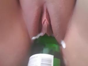 1000 days on XHAMSTER celebration - Bottle fucking